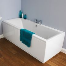 Square Double Ended Bath with panel options